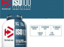 Dymatize ISO 100 Hydrolyzed – Ce este si cum se administreaza